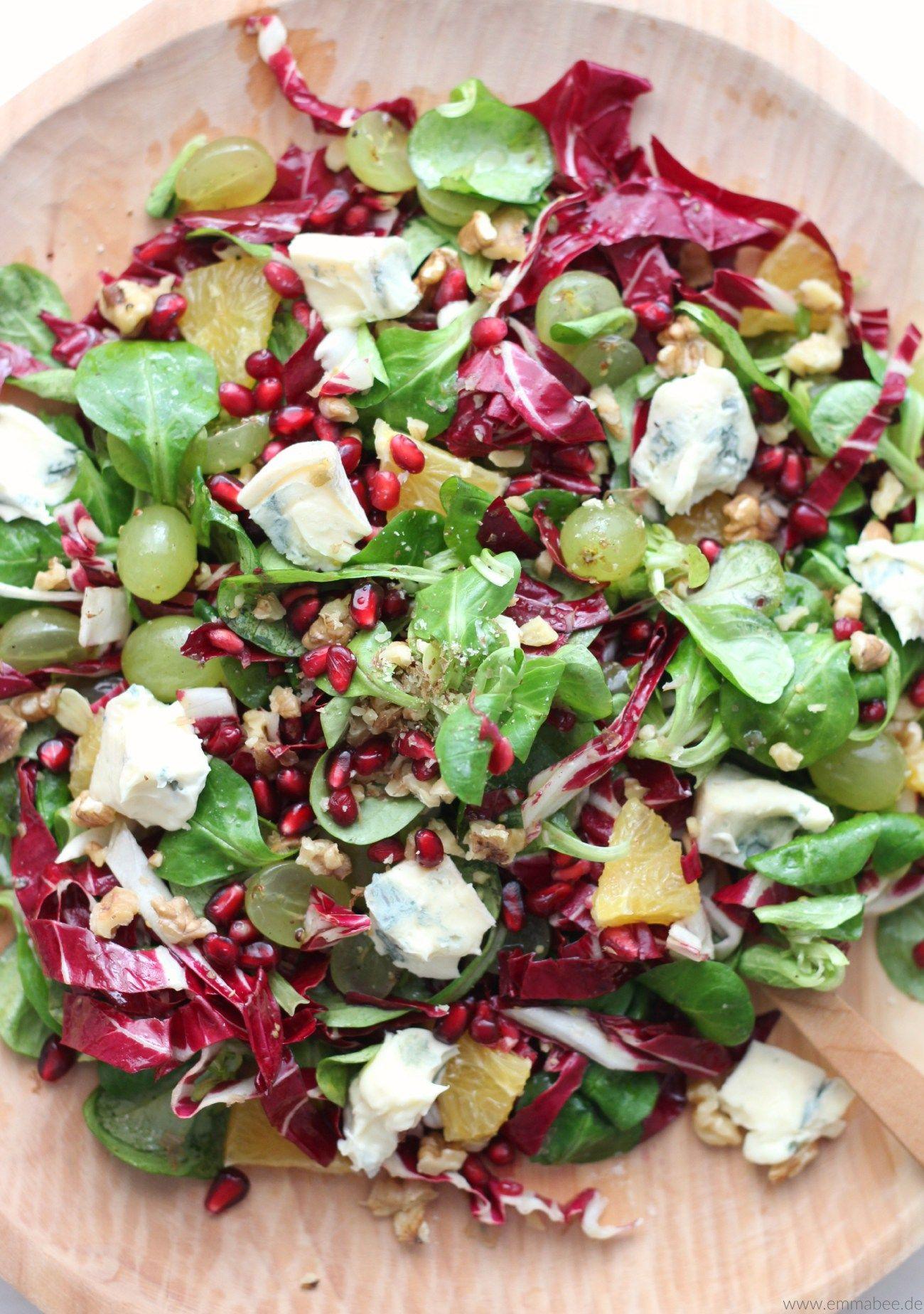 EmmaBee\'s Wintersalat   Rezept   salate   Pinterest   Salat, Essen ...