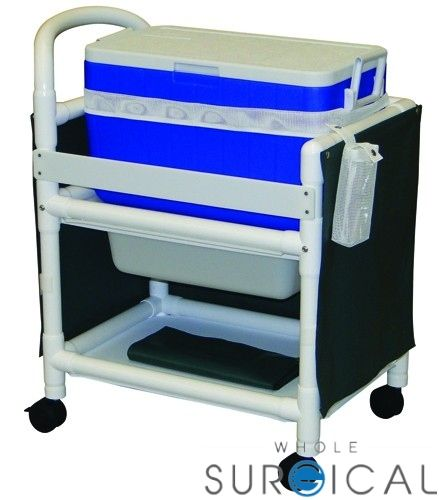 MJM International Corp - M810 - Hydration Ice Chest w/ Cart 31 L x 20 W x  37.5 H
