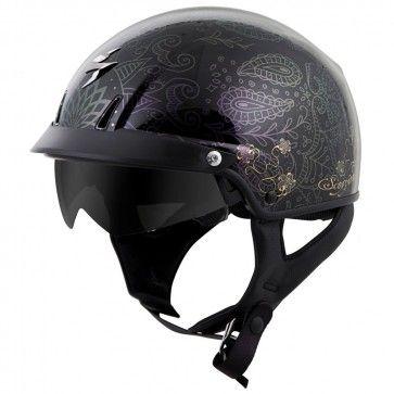 Scorpion Exo C110 Azalea Womens Motorcycle Helmets Womens Motorcycle Helmets Half Helmets Motorcycle Helmets Half