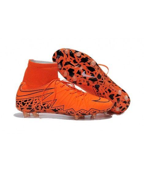 huge selection of e7a05 77c7b Nike Hypervenom II Phantom Premium FG PEVNÝ POVRCH Flywire High Top  Oranžový Stripe Kopačky