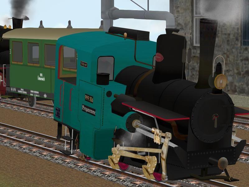 Zahnrad-Dampflokomotive 1000 mm. Bis #EEP6 http://bit.ly/Zahnrad-Dampflokomotive