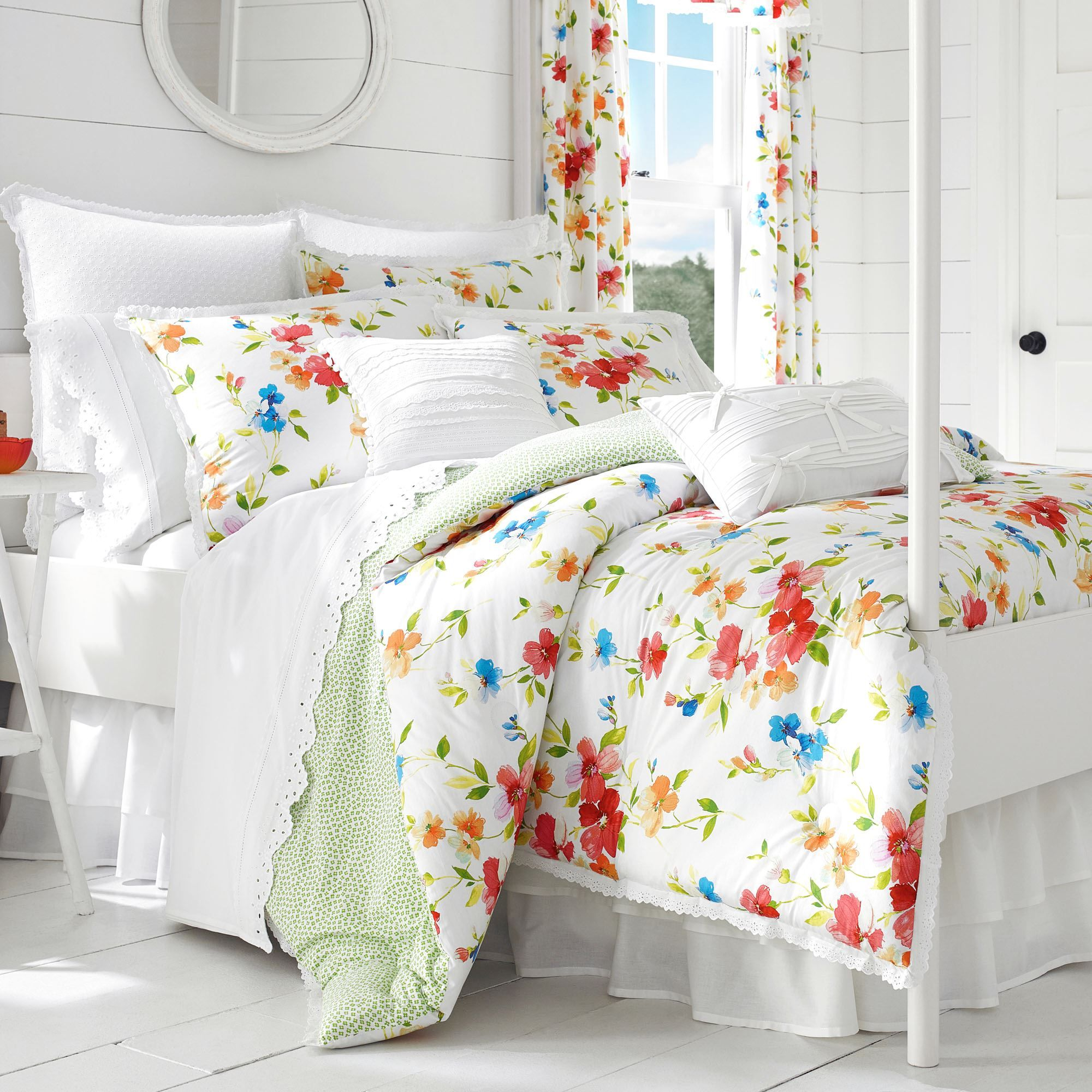 Summerfield Floral Bedding Accessories By Piper Wright Bedding