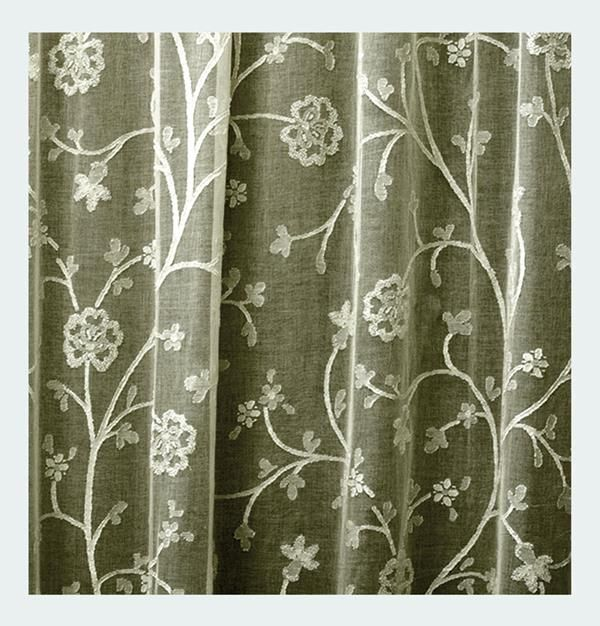 Thistle Madras Curtain And Yardage Direct From London Lace London