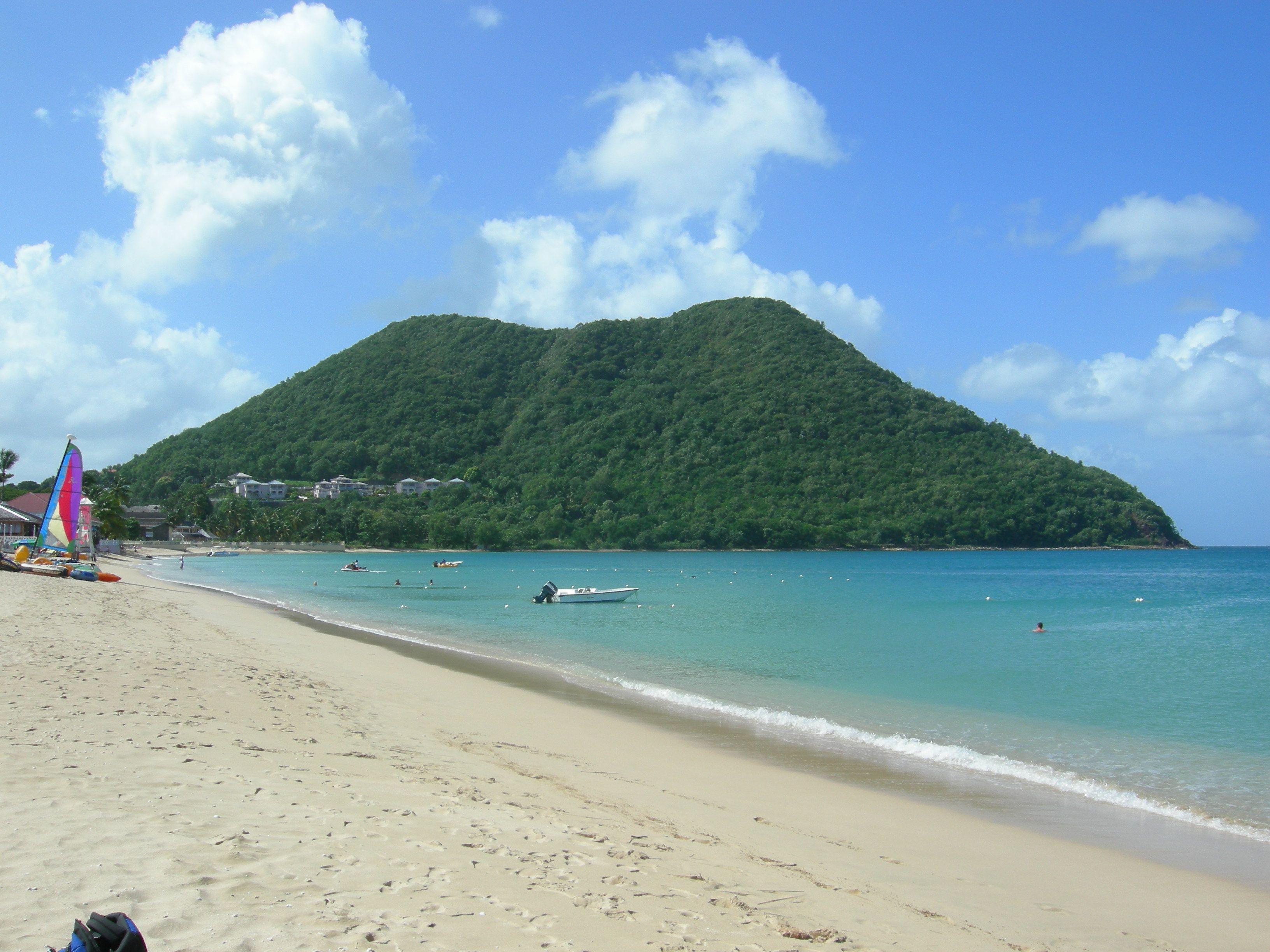 Rodney Bay Beach St Lucia