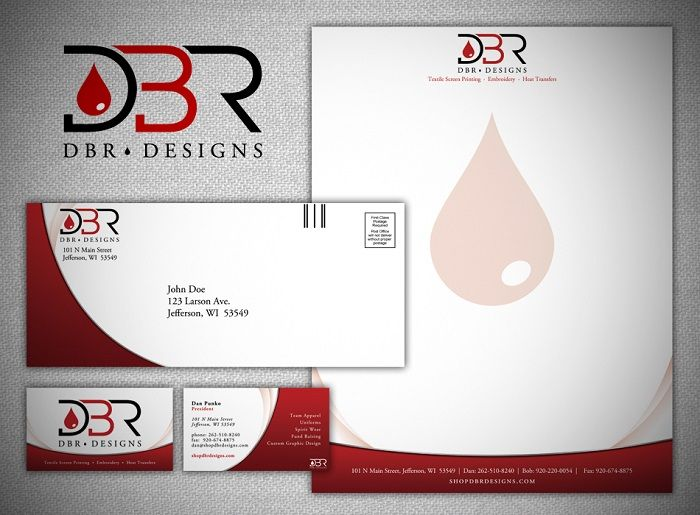 25 Unique and Modern Letterhead Examples - DesignsLayer Graphics - letterhead example