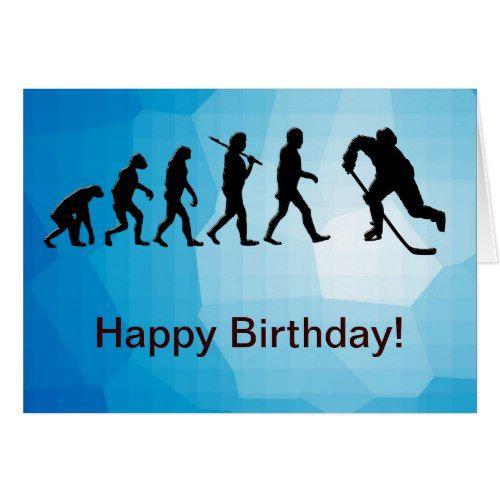 happy birthday hockey Hockey   Happy Birthday Card | Hockey Inspiration | Happy birthday  happy birthday hockey