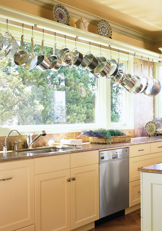 Small Kitchen No Upper Cabinets Dapur