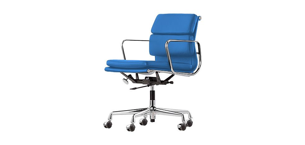 eames chaise de bureau Chaise style Soft Pad Group EA 217 - Charles Eames - Simili Cuir