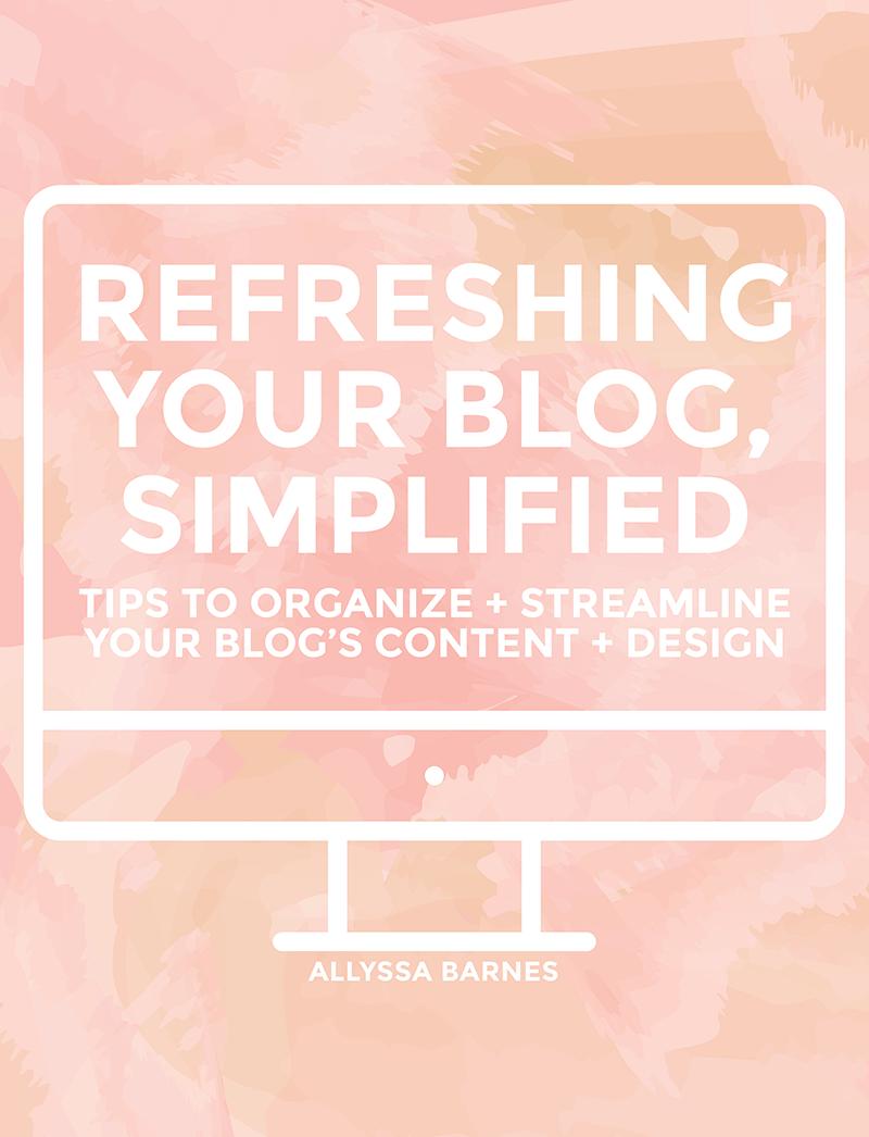 refreshingyourblogsimplified Business blog, Blog tips