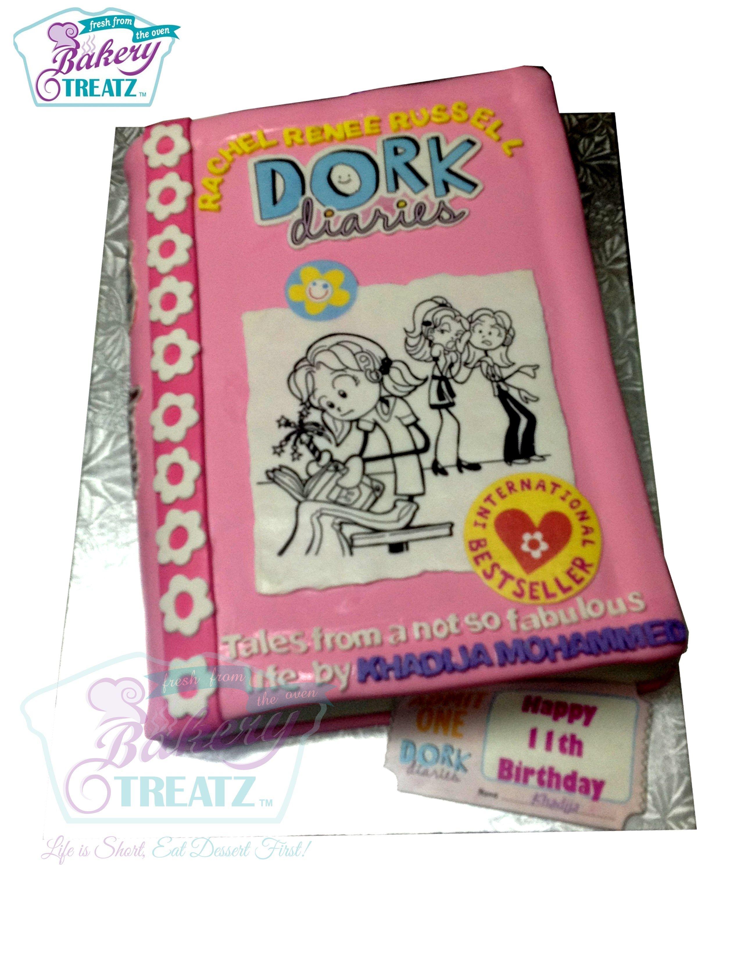 Dork diaries book cake | Cakes in 2019 | Dork diaries books