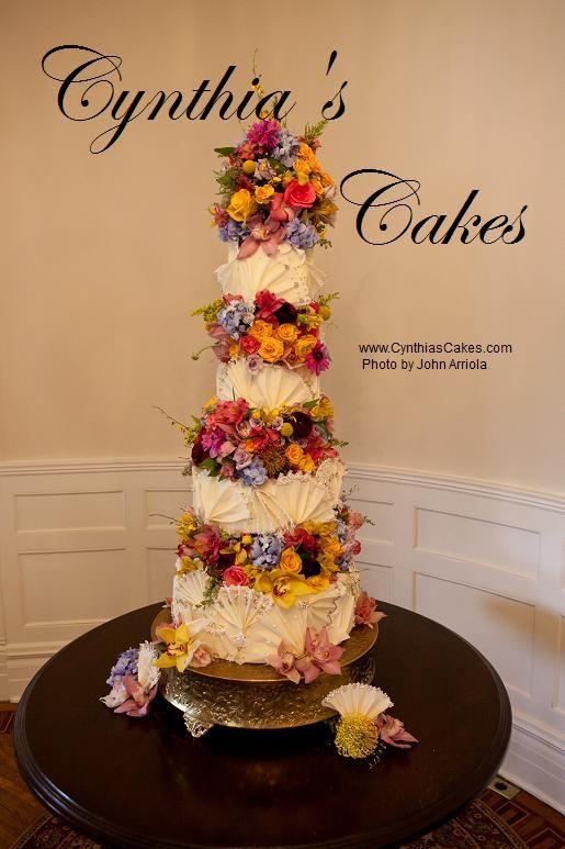 Victorian Wedding Cake At Lambermont Castle In San Antonio Tx