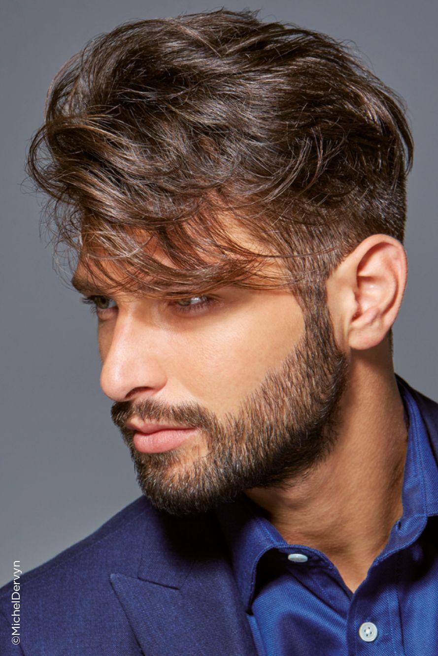 Soren Collection Michel Dervyn Le Barbier Coiffeurs Pour Homme Coiffure Cheveux Epais Coiffure Homme