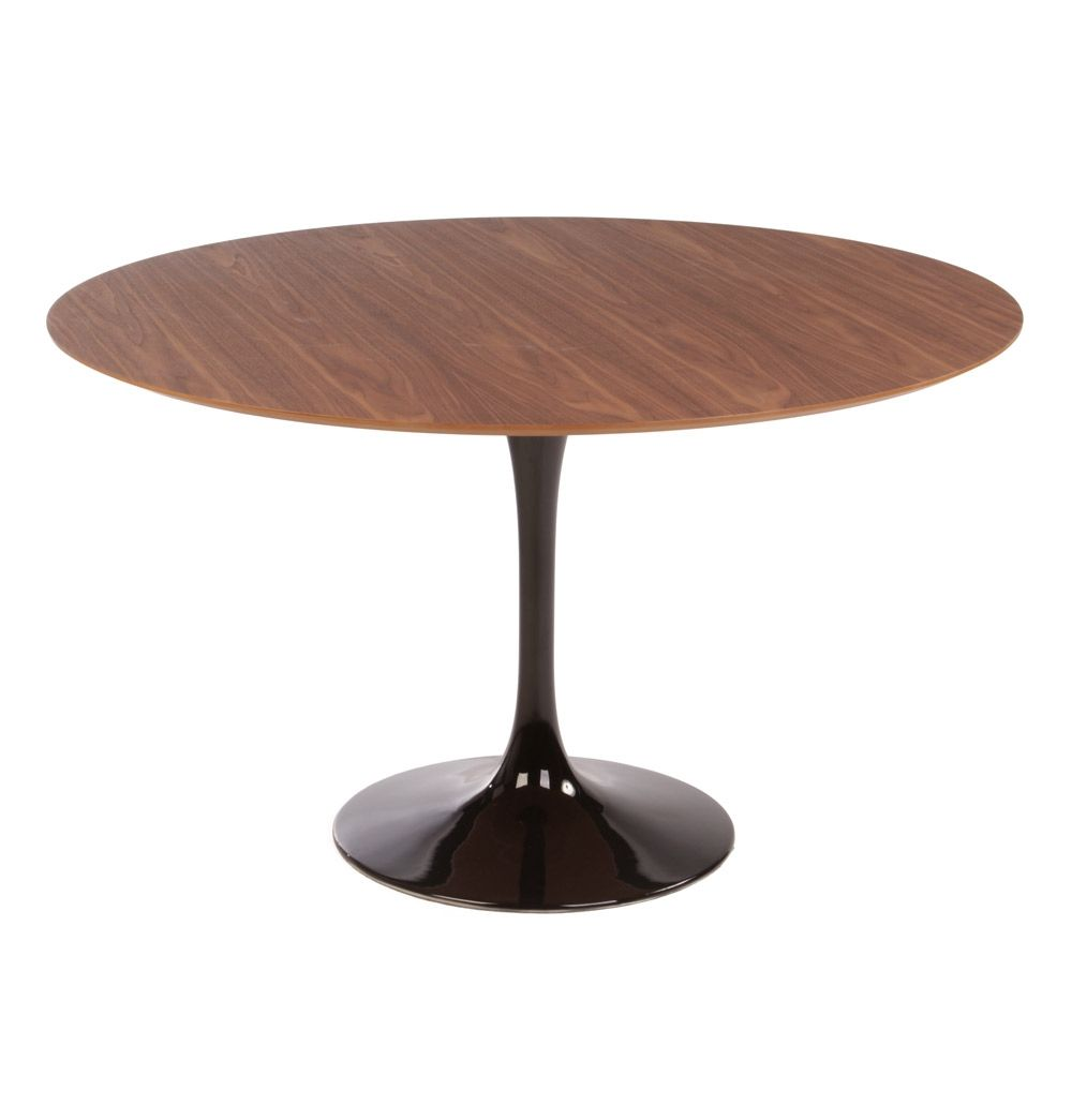 Replica Eero Saarinen Tulip Dining Table Round Timber By Eero Saarinen Matt Blatt Round Dining Table Dining Table Table [ 1045 x 1000 Pixel ]