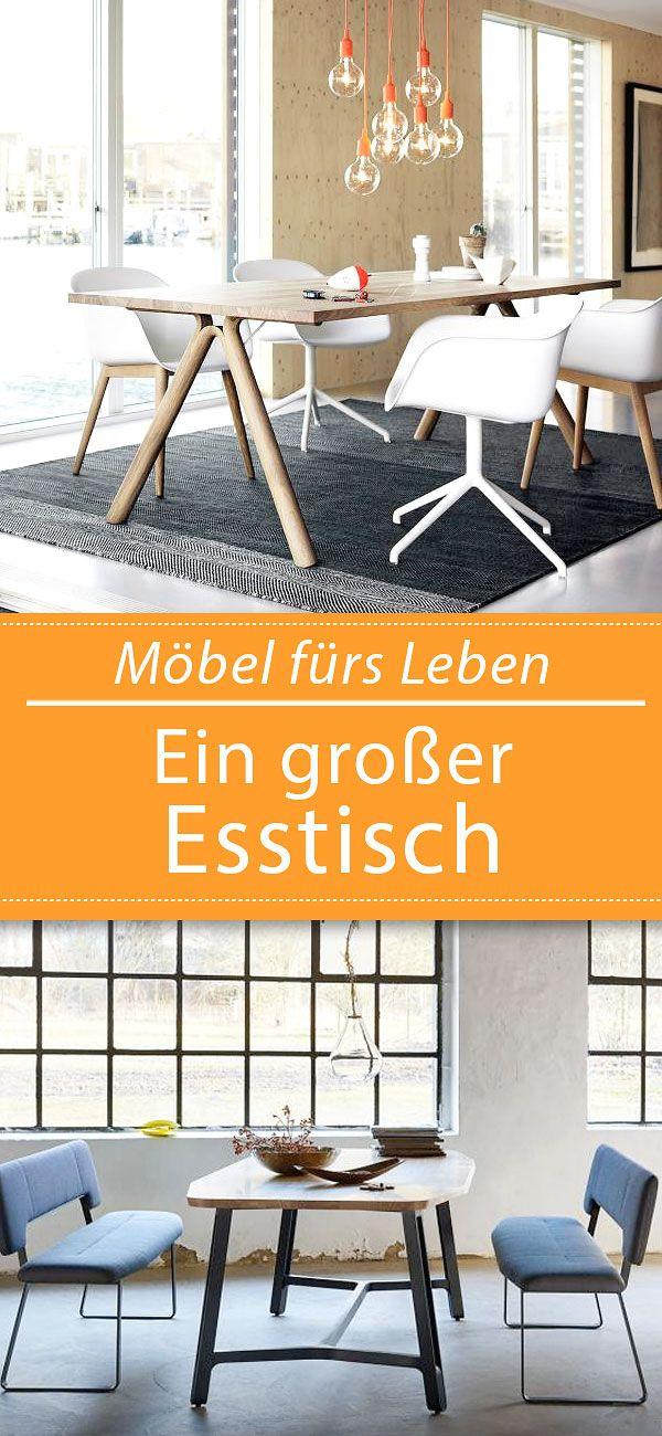 Von rund bis ausziehbar \u2013 große Tische Pinterest Interiors