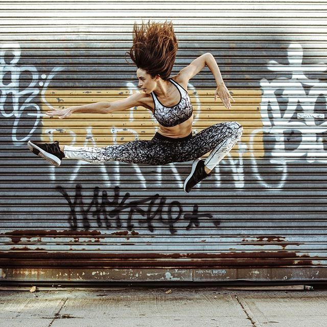 Who S Ready To Jumpstart Their Weekend Justdance Jump Dancer Fitness Power Crossfit Workout Clothes Reebok Dance Fitness Activewear