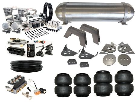 Complete FBSS Airbag Suspension Kit - 86 5-97 Nissan