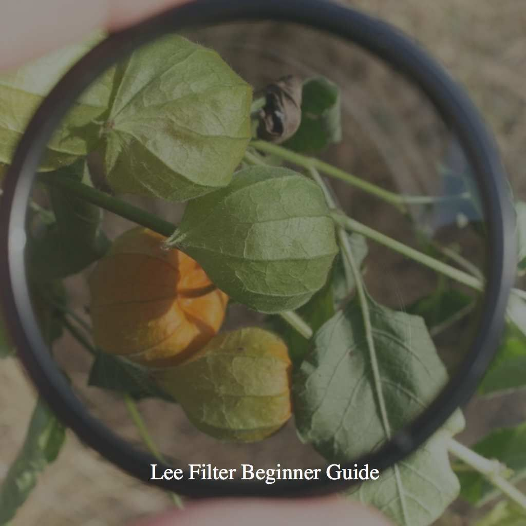 Lee Filter Beginner Guide(VIDEO) | Filters | Lee filters