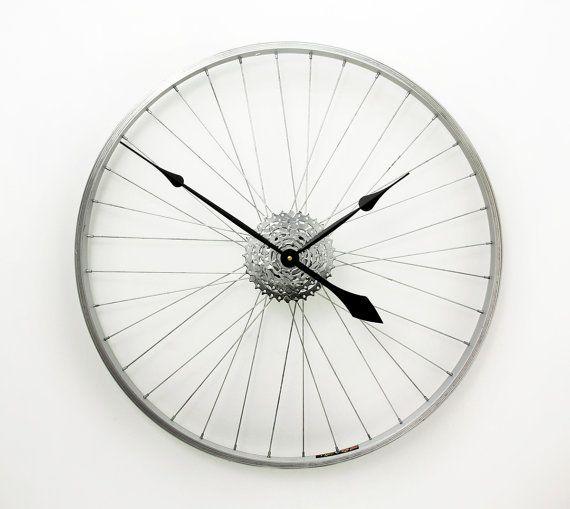 grande horloge murale horloge de roue de v233lo par