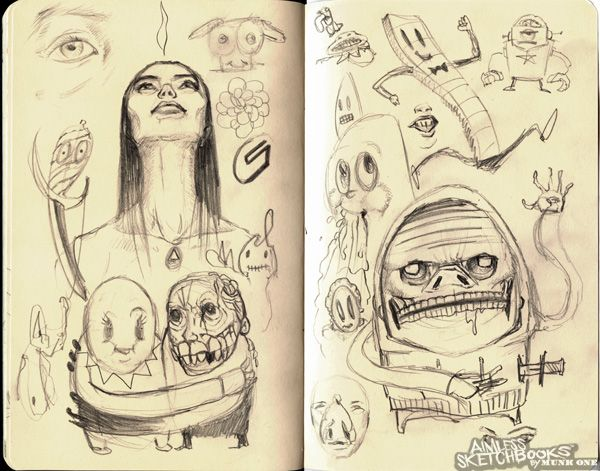 Aimless Sketchbooks™ by MUNK ONE