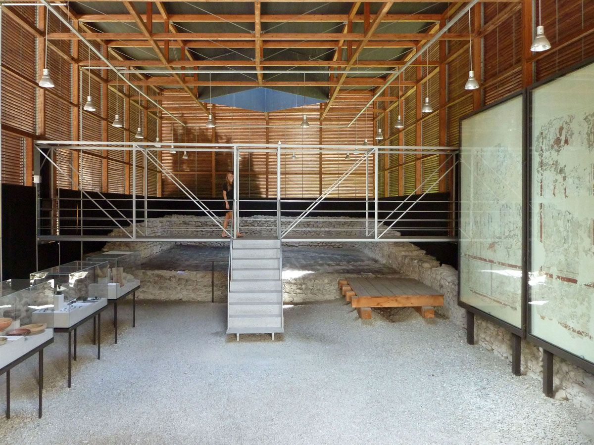 One of the first big projects for the 2009 Pritzker Prize