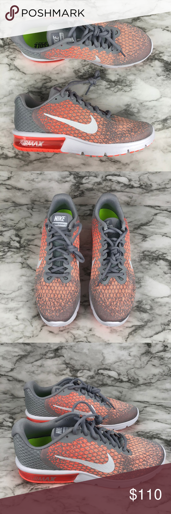 794db1399cb637 I just added this listing on Poshmark  Nike Air Max Sequent 2 Sneakers  Coral
