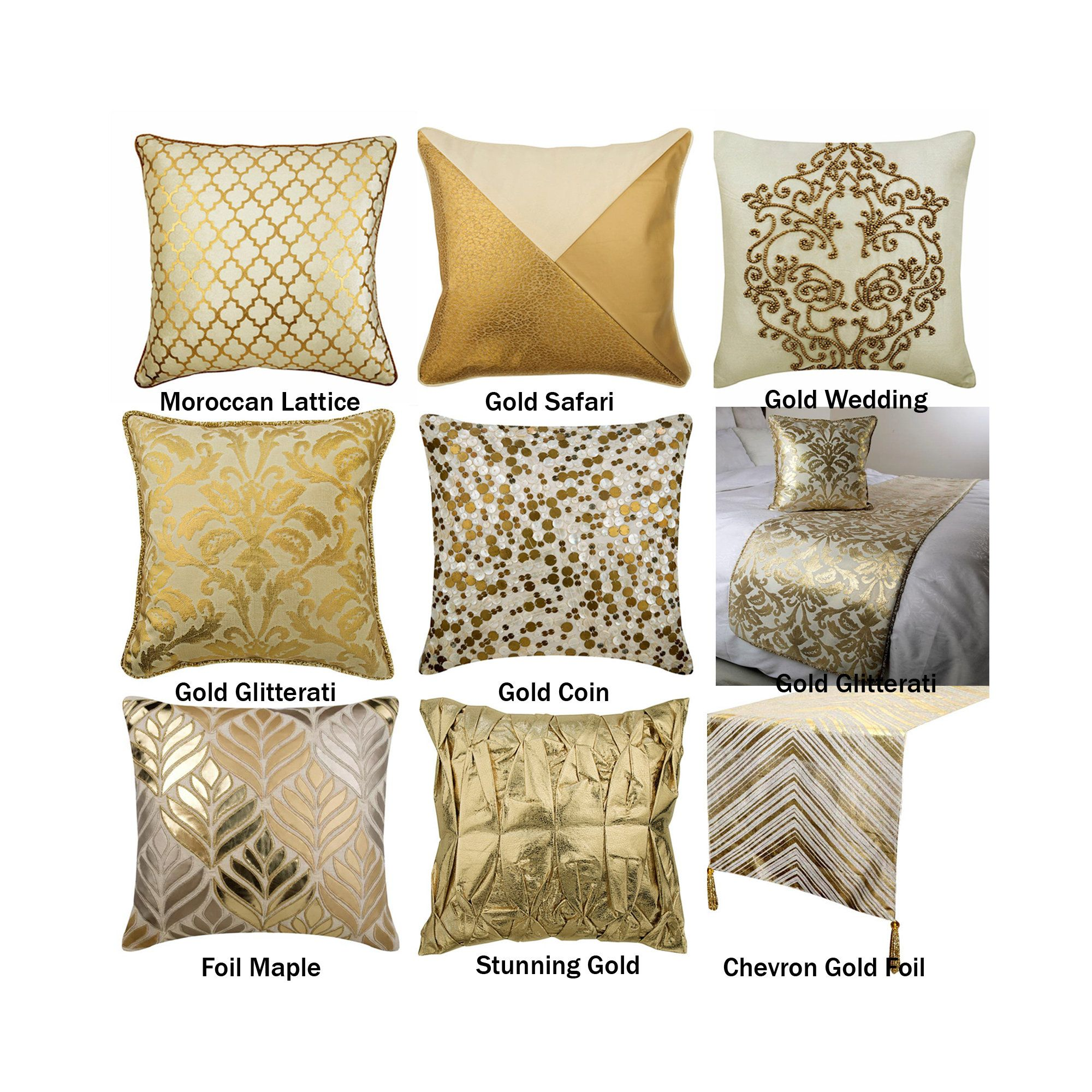 The Gold Collection Pillow Covers Decorative Throw Pillow Etsy In 2020 Pillows Decorative Throw Pillows Beige Throw Pillows
