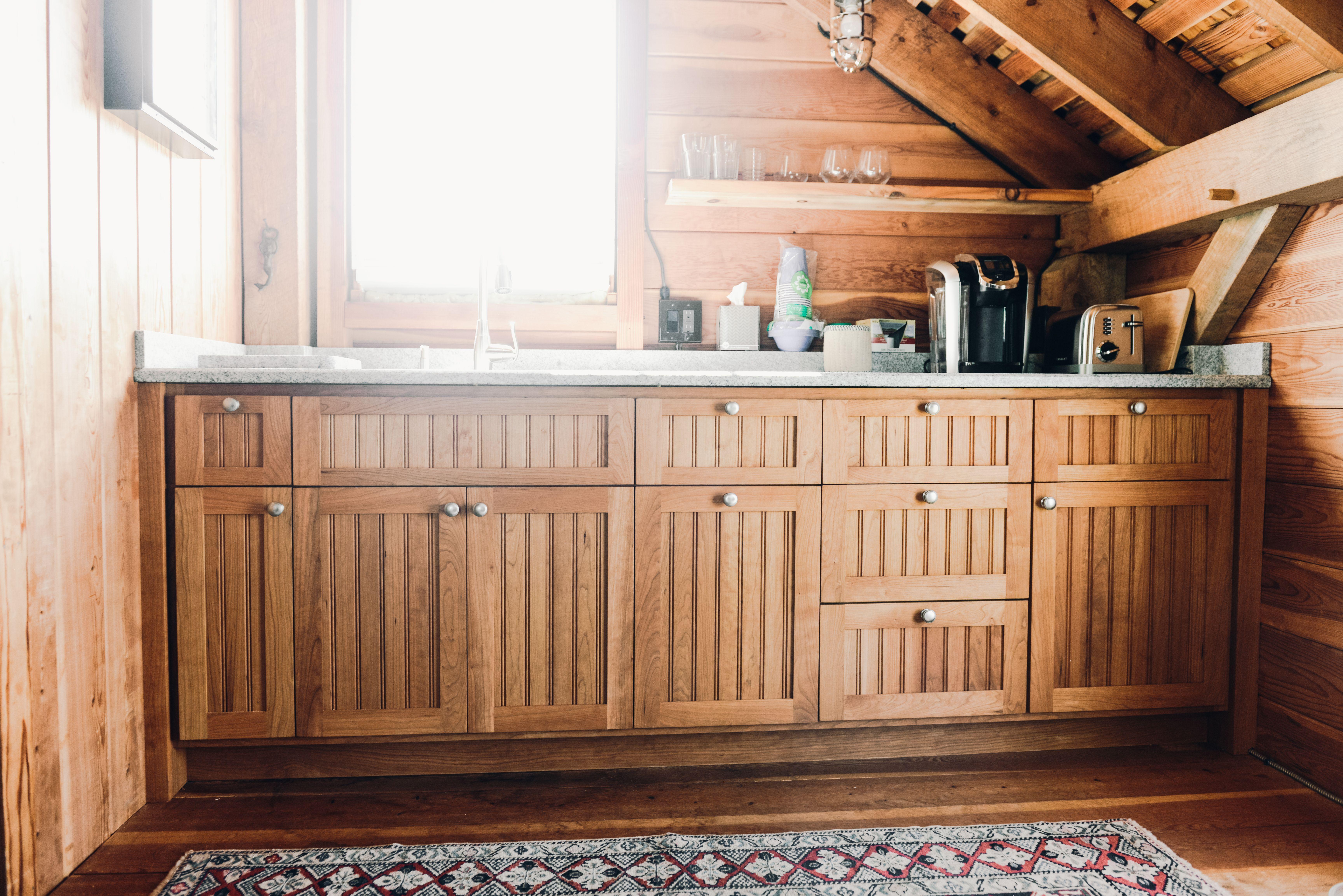 Cherry Kitchen Cabinets Beadboard Kitchen Beadboard Kitchen Cabinets Beautiful Kitchen Cabinets