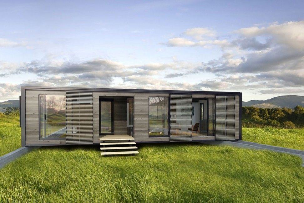 Ideas Nice Modern Design Of The Prefab Shipping Container