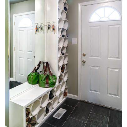 10 rangements pour les chaussures faire soi m me. Black Bedroom Furniture Sets. Home Design Ideas