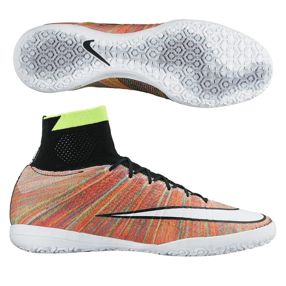 huge discount ba5aa e4ae4  134.99 - Buy your Nike MercurialX Proximo Street IC Indoor Soccer Shoes  (Multi Black White) at your online soccer store - SOCCERCORNER.COM