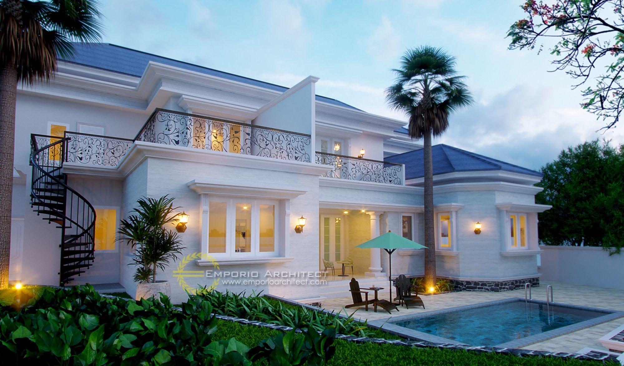Jasa Arsitek Bogor Jawa Barat Desain Rumah Ibu Richard
