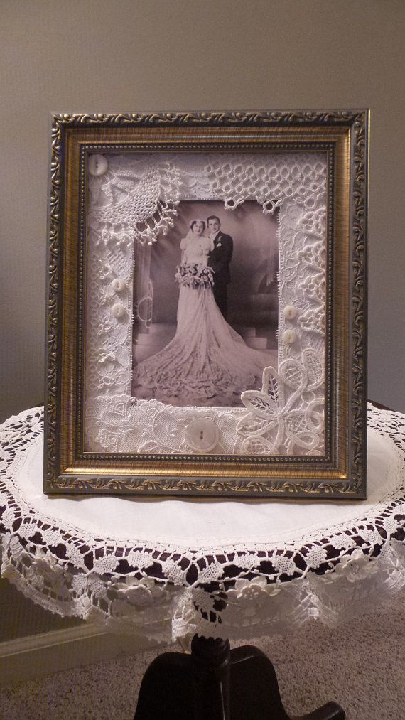 Items Similar To Victorian Picture Frame, Shabby Wedding