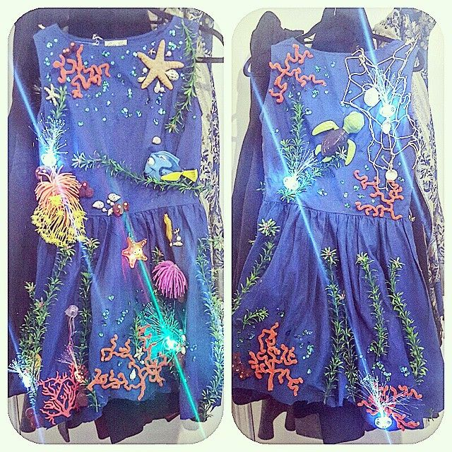 Korallenriff Kostüm selber machen | maskerix.de #diycostumes