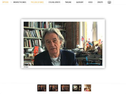 Watch 5 videos made for the app of Sir Paul Smith talking about cycling culture