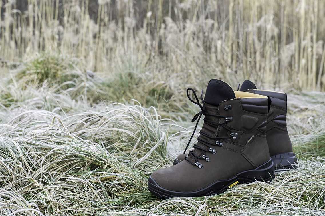 Buty Mysliwskie Demar Defender Buty Trekkingowe Nubukowe Boots Shoes Hiking Boots