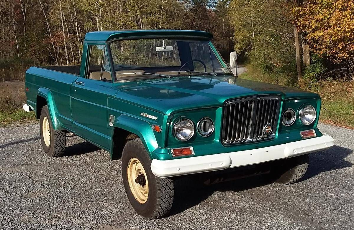 1969 Jeep J 3000 Gladiator 16 000 Miles 35 000 Dec 2017 Jeep Gladiator Jeep Jeep Pickup