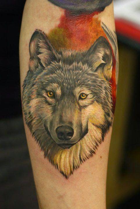 Belagoria Tatuajes de lobos , ideas y simbolismo S Pinterest