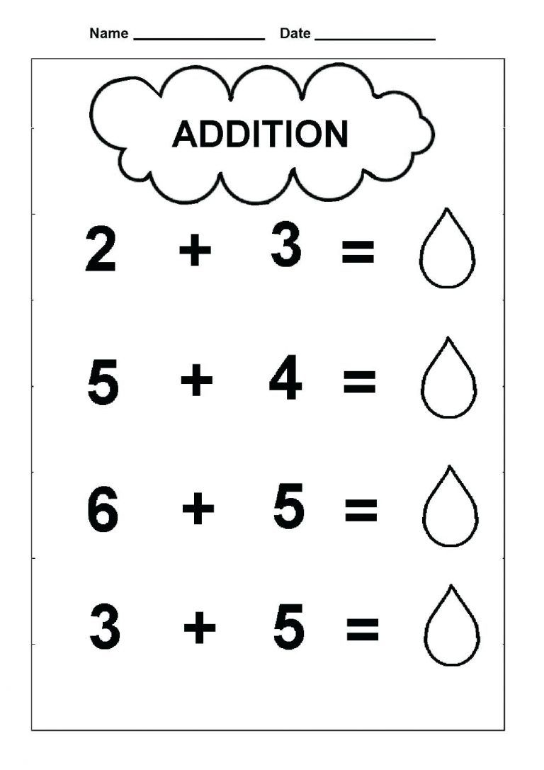 Free Simple Addition Worksheets Pictures Math Free Preschool Works Kindergarten Math Worksheets Addition Kindergarten Addition Worksheets Addition Worksheets