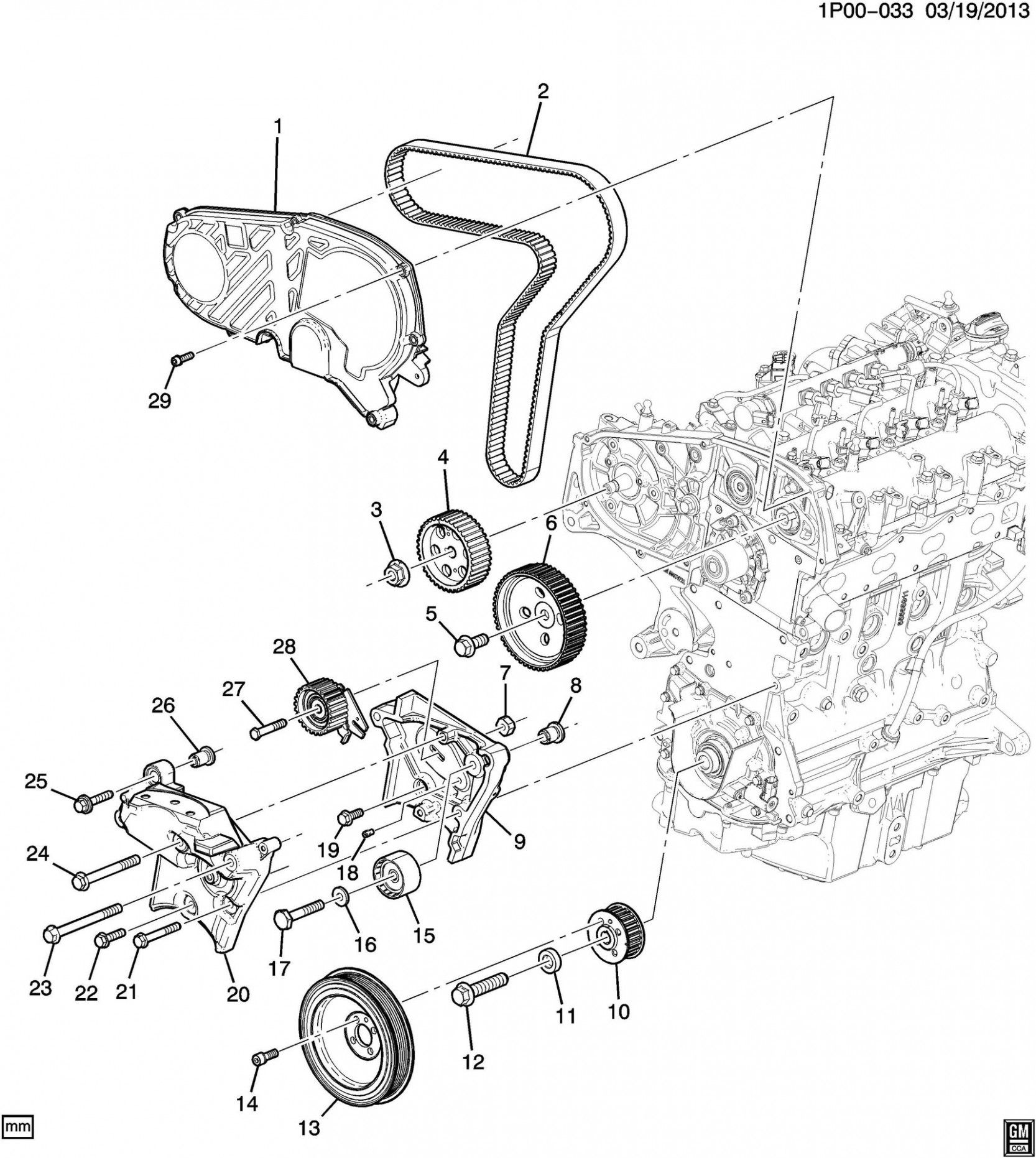 7 Chevy Cruzesel Engine Diagram Di