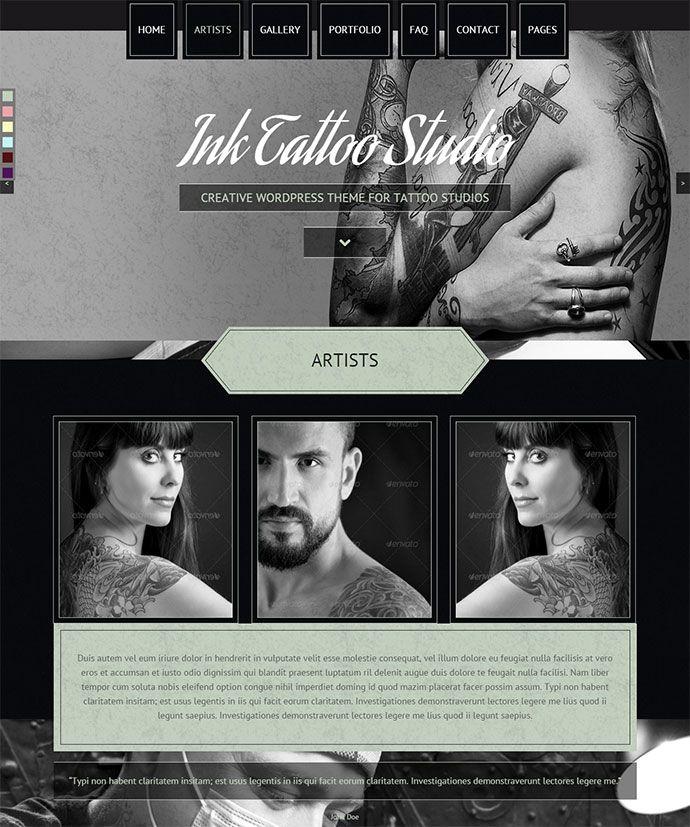 20 Stunning Black & White Portfolio WordPress Themes