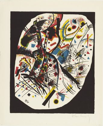 Vasily Kandinsky (French, born Russia. 1866–1944) Small Worlds III (Kleine Welten III) from Small Worlds (Kleine Welten) 1922, Lithograph from a portfolio of twelve prints, six lithographs (including two transferred from woodcuts), four drypoints, and two woodcuts