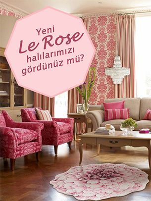 Le Rose Halı Modelleri | Living Room Ideas | Pinterest | Living room ...