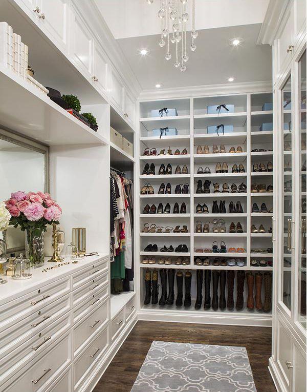 45 Incredible WalkIn Wardrobes for Women White closet