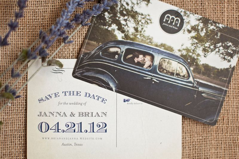 Janna  BrianS VintageInspired Wedding Stationery  Amy Creative