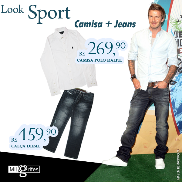 Look Sport para Ano Novo!