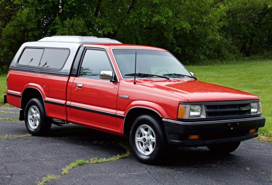 No Reserve 1991 Mazda B2200 Le 5 Pickup Mazda Pickup Trucks Classic Cars Online