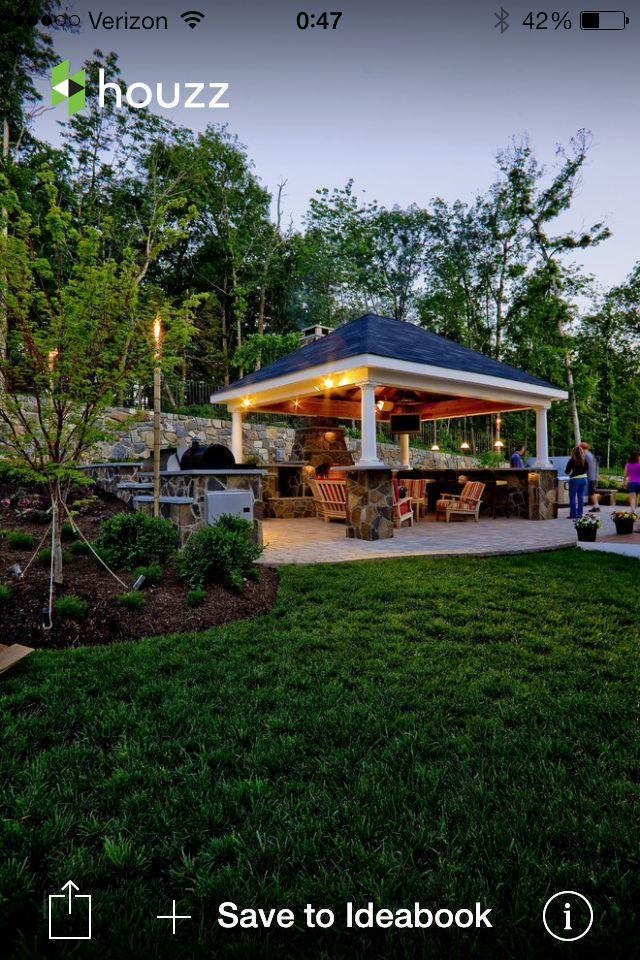 Beautiful Detached Patio Cover Backyard Pavilion Covered Patio Design Patio Design