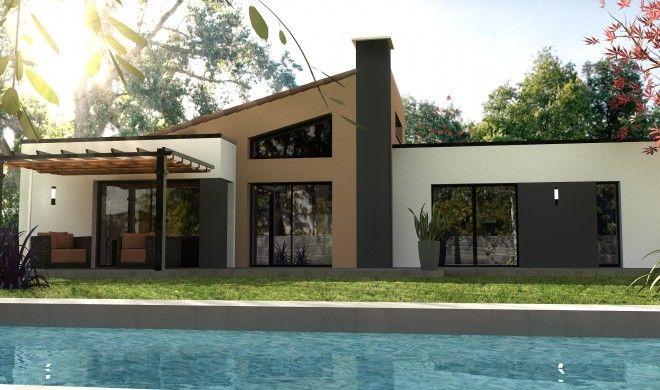 constructeur maison moderne nantes hauts pavés loire atlantique 44 ...