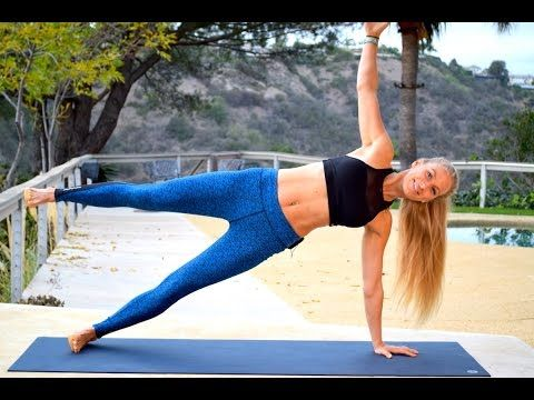 at home yoga inspired abs and core workout 43 min 220270