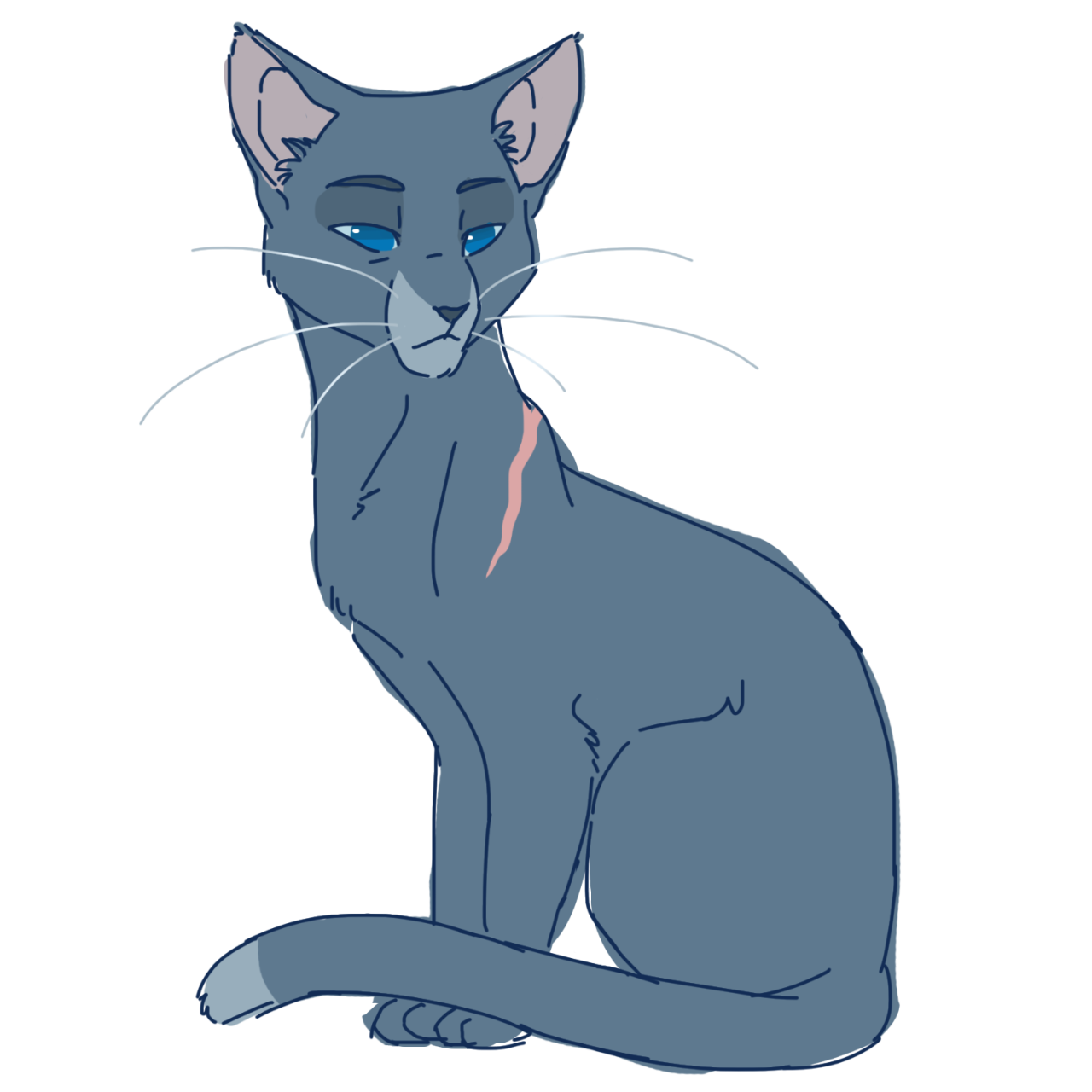 Warriors Into The Wild Online: 100 Warrior Cats Challenge #2: Bluestar (Feel Free To Use